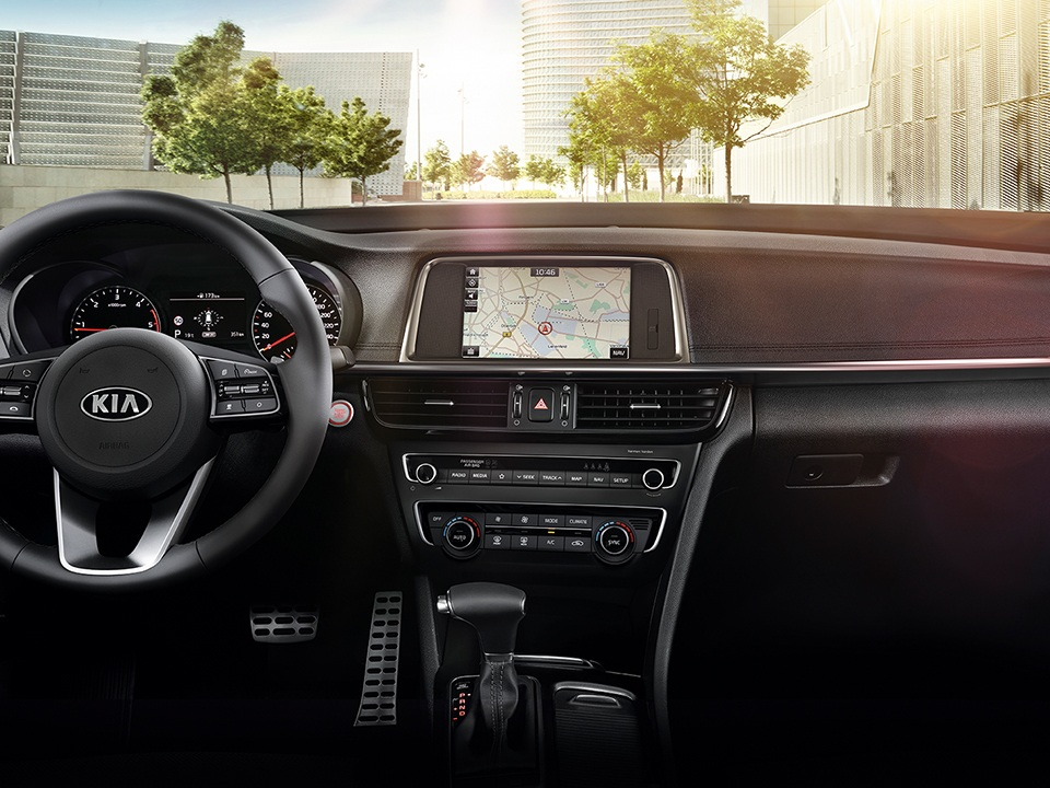Kia Optima Sportswagon elegantes Interieur